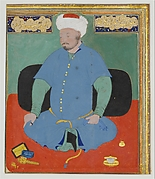 Portrait of Muhammad Khan Shaibani, the Uzbek (d.1510)