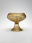 Footed Bowl with Eagle Emblem