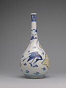 Bottle with Flying Cranes