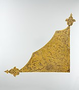 Tombak Gilded Plaque