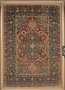 Kashan Silk Carpet