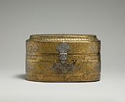 Lidded Box of Muhammad al-Hamawi, Timekeeper at the Umayyad Mosque, Damascus