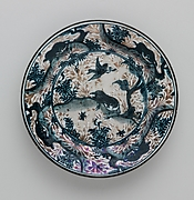 Plate Depicting Birds and Animals