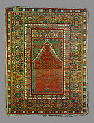 Prayer Rug with Niche Design