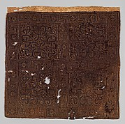 Textile Fragment with Interlace Pattern