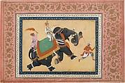 Prince Riding an Elephant