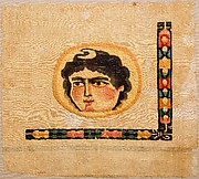 Coptic Textile Fragment with an Image of a Goddess