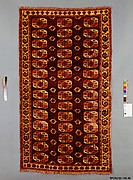 Yamut Carpet with Octagonal Guls