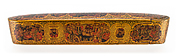 Lacquer Pen Box with Royal Audience Scenes