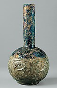 Bottle with Molded Designs of Animals