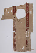 Tunic Fragment with Button Closure