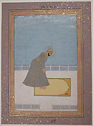 Portrait of Prince Muhammad Buland Akhtar (known as Nur Achhe Sahib) at Prayer