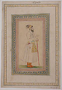 Portrait of the Emperor Aurangzeb