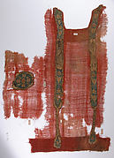 Tunic Fragment with Applied Bands