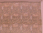 Brocade with Hunting Scene