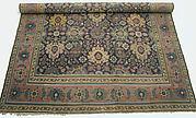 Blue-ground Harshang Carpet