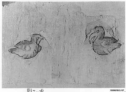 Fragment with Two Birds