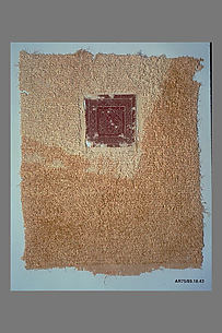 Fragment of a Cover or Blanket with Interlace Square