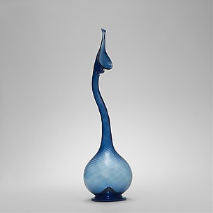 Swan-Neck Glass Bottle
