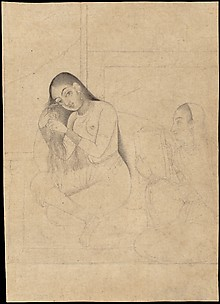 Lady at her Toilette with a Servant