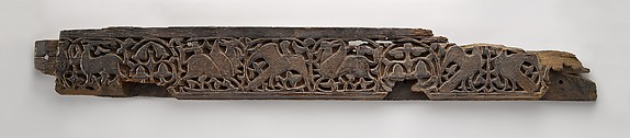 Panel with Birds, Griffins, and Animals