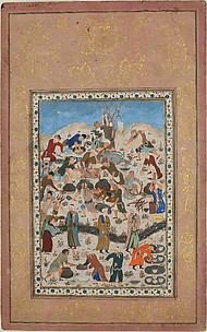 """""""Preparation for a Feast"""", Folio from a Divan of Jami"""