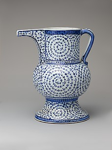 Ewer with 'Tughra-Illuminator' Style Decoration