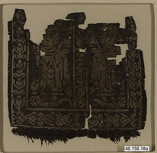 Square with Holy Warriors Spearing a Serpent