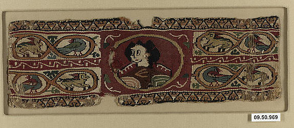 Cuff Band with Bust of a Female