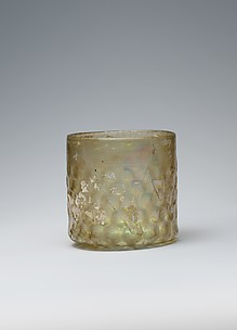 Cup with Molded Honeycomb Pattern