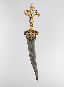 Dagger with Zoomorphic Hilt