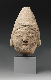 Head from a Stucco Sculpture