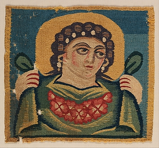 Tabula (Square) with the Head of Spring