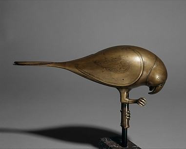 Finial in the Form of a Parrot