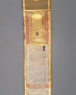 Calendar-Almanac in Scroll Form