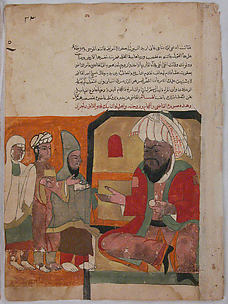 Folio from a Kalila wa Dimna