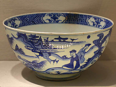 Imitation Blue-and-white Bowl