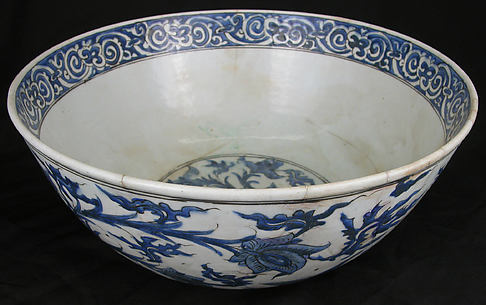 Bowl with Flowering Plants