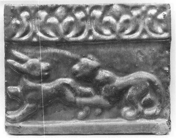 Tile from a Frieze