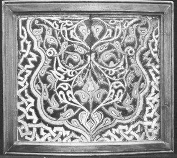 Shaped Tiles in the 'Cuerda Seca' Technique