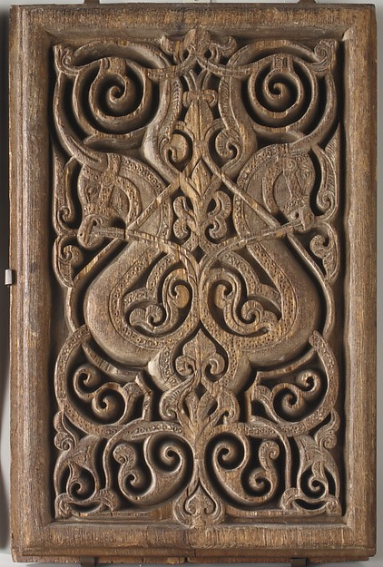 Panel with Horse Heads