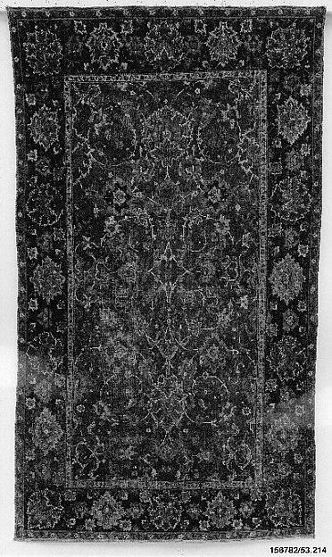 """Floral and Cloudband"" Carpet"