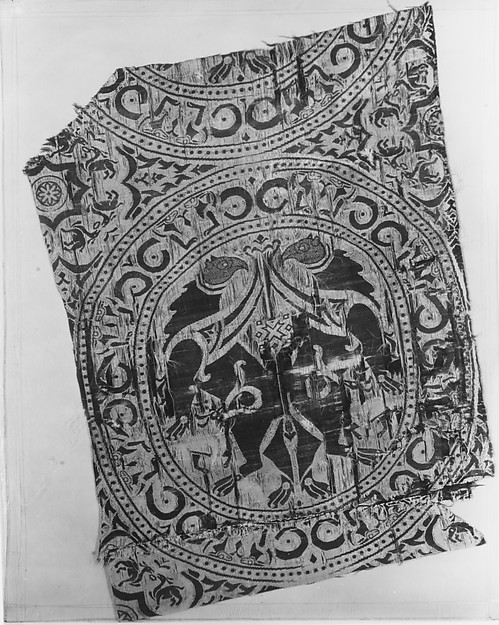 Textile Fragment from the Shrine of San Librada, Sigüenza Cathedral