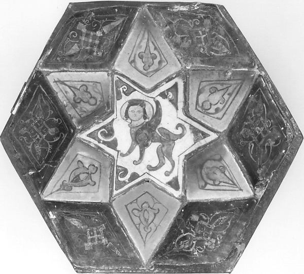 Tile Panel with Sphinx