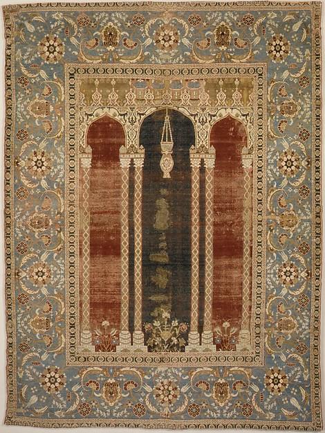 Carpet with Triple-arch Design