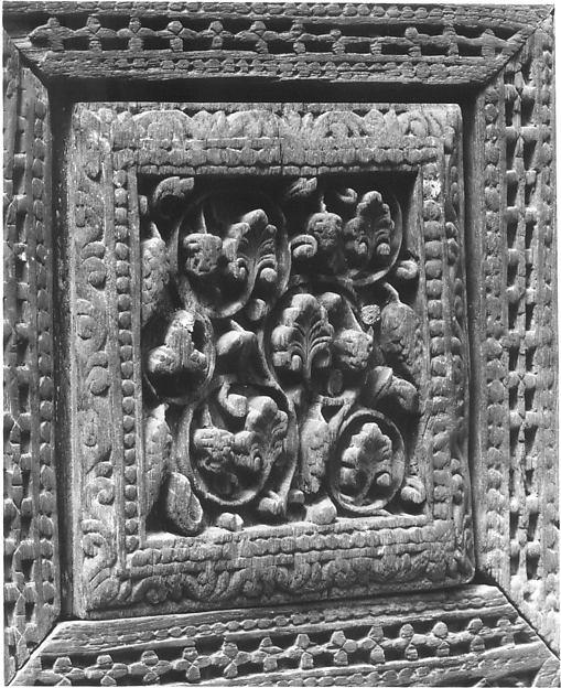 Panel from a Door or Minbar