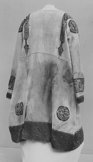 Tunic with Red Ground Ornaments