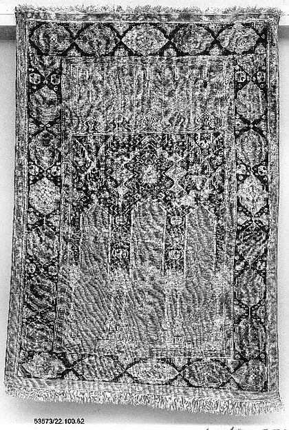 Prayer Rug with Coupled Columns