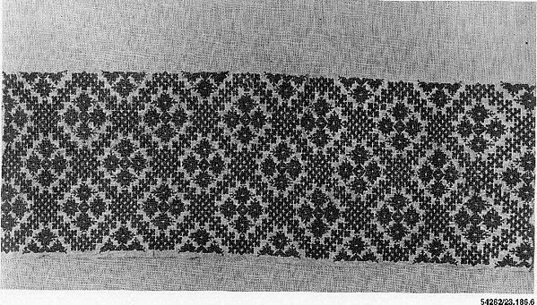 Border of a Cushion Cover