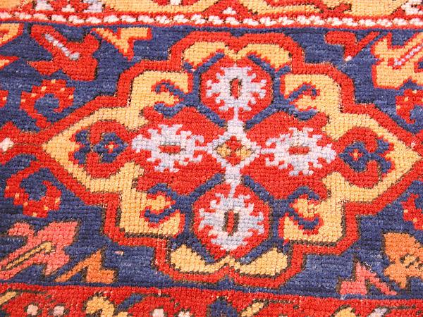 'Ornamental Lotto' carpet